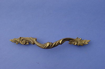 Vintage Karges Italian Cast Brass Drawer Pull Handle NOS High Quality Furniture