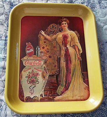 3 - VINTAGE COCA COLA COKE TRAY LIMITED EDITION NUMBERED 75TH YEAR ANNIVERSARY