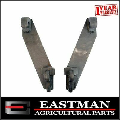 Tractor Loader Euro Quick Attachment Brackets (PAIR) - Bale Forks Farm Implement