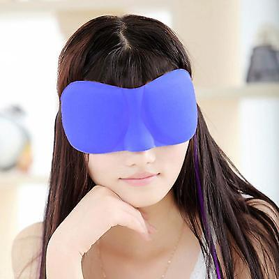 Adjustable 3D Eye Sleeping Mask Soft Comfortable Cover Shade Blinder Blindfold