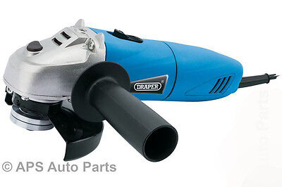 Draper 83591 Angle Grinder 500W 115mm 230v Heavy Duty Cutting Grinding Tool