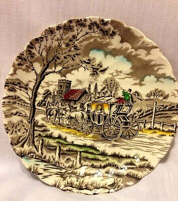 Vintage Myott Royal Mail Fine Staffordshire Ware Made In England