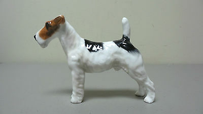 Vintage Royal Doulton Rough Haired Terrier Dog Figurine, Hn1014, Retired