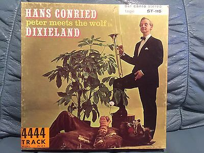 Hans Conried Peter Meets The Wolf In Dixieland Reel To Reel Tape