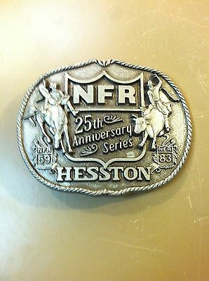 Vintage Hesston 1983 Rodeo NFR National Finals Rodeo - 25th Anniversary-Cowboys