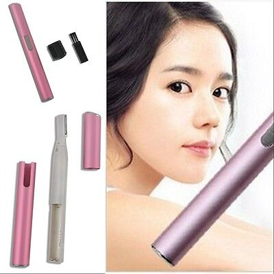 Women's Electric Lady Shaver Legs Eyebrow Shaper Trimmer Hair Remover Mini