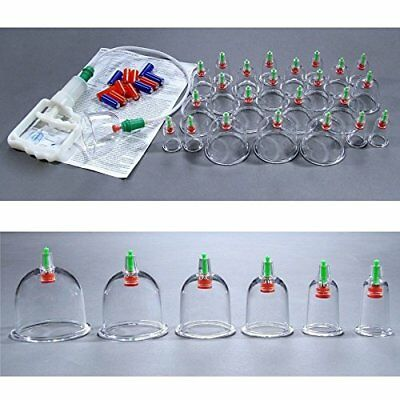 24 pcs Vakuum Cupping Set with 12 magnetic heads  Acupunkture therapy