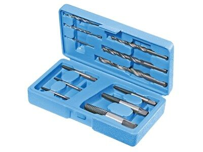 Silverline 12 Pc Broken Screw Extractor Set Stud Remover Easy Outs