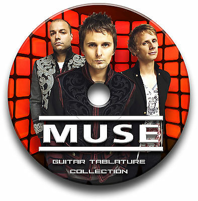 Muse Heavy Rock Guitar Tabs Tablature Song Book Software Cd