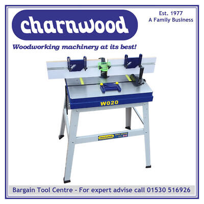 CHARNWOOD W020 Cast Iron Floor Standing Universal Router Table
