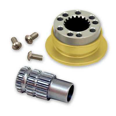 Longacre Steering Wheel Quick Disconnect Coupler Hub Splined #52-56610 Sfi/fia