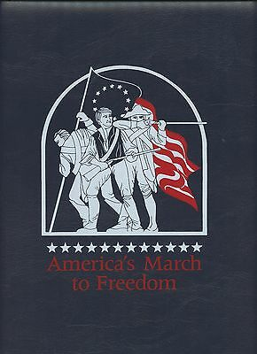 America's  March To Freedom, Stamp Album