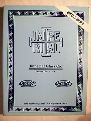 ANTIQUE IMPERIAL GLASS PRICE VALUE GUIDE $ BOOK Very Rare Out of Print