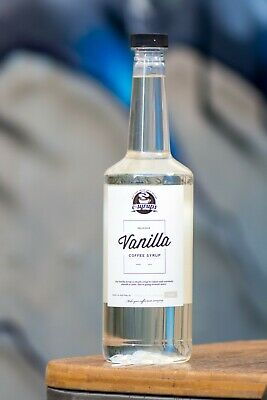 Vanilla Flavoured Coffee Syrup 2 x bottles 750ml
