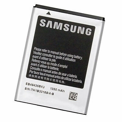 Batterie Samsung Galaxy Ace s5830 ORIGINE Genuine / EB494358VU - 1350 mAh