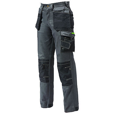 Apache APPRO TWILL Cargo Work Wear Cordura Trousers Kneepad & Holster Pockets