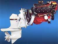 Volvo Penta 230 four cyl engine 1994 that used the SP CD outdrive, fresh water