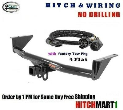fits 2015-2019 chevy colorado, 15-19 gmc canyon trailer hitch & wiring