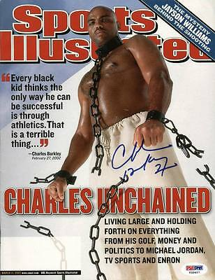 Suns Charles Barkley Authentic Signed Sports Illustrated PSA/DNA #T35407