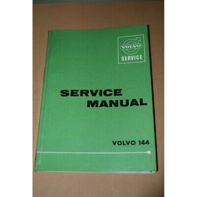 Volvo Service 144 Manuel Manuale Di Officina 1966 Inglese English Buono