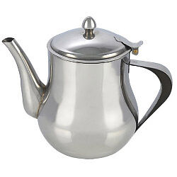 Pendeford Stainless Steel Collection Tea Pot 1.4L (48oz) High Quality Brand New