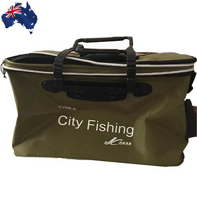 EVA Fish Fishing Water Bucket Pail Outdoor Foldable Folding Collapsible OFIBS38
