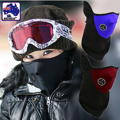 Cycling Mask Bike Motorcycle Ski Snow Sport Winter Warmer Face WindProof OMASK89