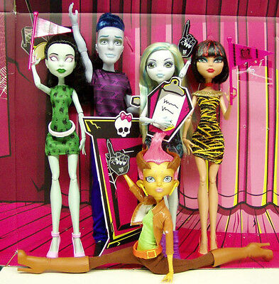 Monster High GILDA GOLDSTAG Student Disembody SLO MO 5 Pack *LOOSE* Mint!