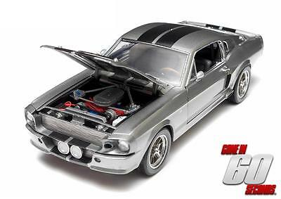 1967 SHELBY GT500 ELEANOR GONE IN 60 SECONDS DIECAST CAR 1:18 GL12909 BRAND NEW!