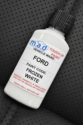 Ford Frozen White Paint Touch Up Kit 30Ml Fiesta Focus Etc