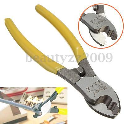 Electric 6'' Cable Cutter Plier Plastic Handle Wire Stripper Cutting Tool Kit