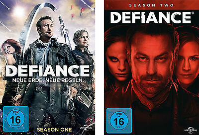 9 DVDs * DEFIANCE - SEASON / STAFFEL  1 + 2 IM SET # NEU OVP +
