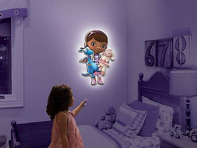 Wall Friends Disney Doc McStuffins Talking Room Light Interactive Wall Character