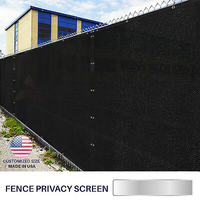 "Customize 36""(H)3' Privacy Netting Screen Balcony Deck Patio Porch Mesh Tarps"