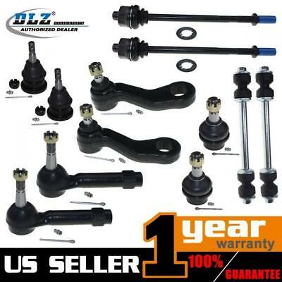 12x USA New Tie Rod Ends Ball Joint Pitman Arm for 02-06 CADILLAC ESCALADE 4WD