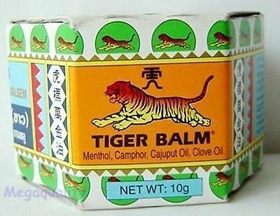 TIGER BALM WHITE HERBAL RUB MUSCLES PAIN RELIEF 10 g