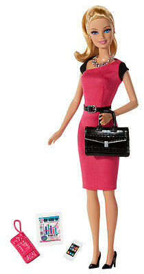 Barbie Life in the Deamhouse Doll I Can Be Entrepreneur Career Doll Pink & Black