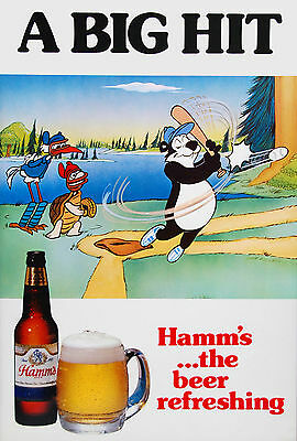 HAMM'S BEER Poster - 10 x 14 inches