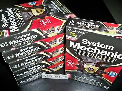 iolo System Mechanic Professional Pro Unlimited PCs Household New Sealed