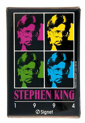 Stephen King 1994/signet Book Promotion Button.
