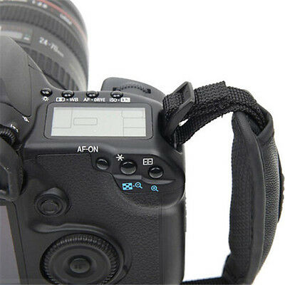 DZ479 Camera Hand Grip Canon EOS Nikon Sony Olympus SLR/DSLR Leather Strap Wrist
