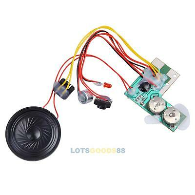 10s Greeting Card Recordable Voice Chip Music Sound Module Musical Record Audio