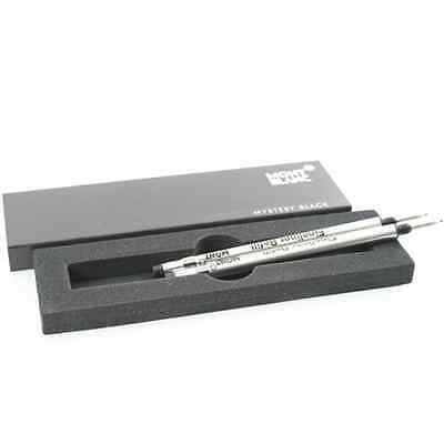 2 Montblanc  Fineliner  Refills Mystery Black  Broad Pt New In Box 105170