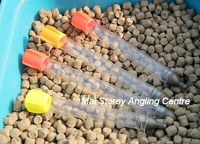 Pair Of Drennan Shorty Pellet Waggler Floats With Adjustable Base Weights