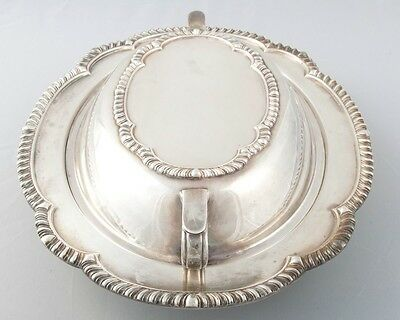 Antique Friedman F.S. Co. Silver Plated Soup Tureen Dish + Lid Pattern #2150