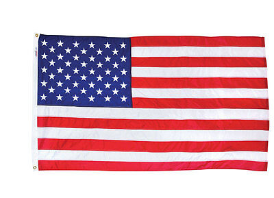 3x5 FT VALLEY FORGE US NYLON AMERICAN FLAG Sewn Stripes Embroidered Stars NEW!!!