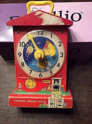 Vintage Fisher-Price Clock
