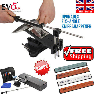 2015 2nd Gen Professional Fix-Angle Knife Sharpener Edge Pro Style Sharpening