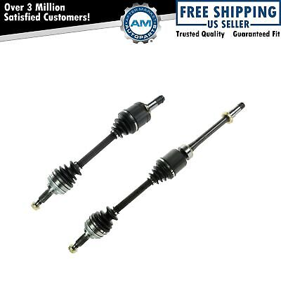 Front CV Axle Shaft Pair Set Kit of 2 For Avalon Camry Solara ES300 New
