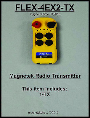 Magnetek Flex 4EX2 - NEW replacement spare Transmitter unit _ 0-TXC-04, 4EX2
